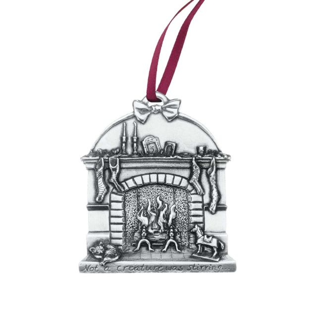 Hearthside 1996 annual pewter ornament