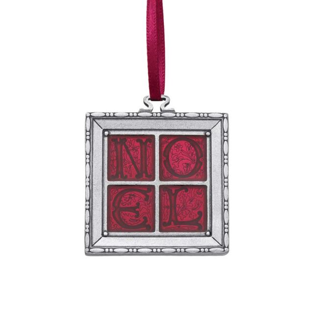 2000 Noel Red annual pewter ornament