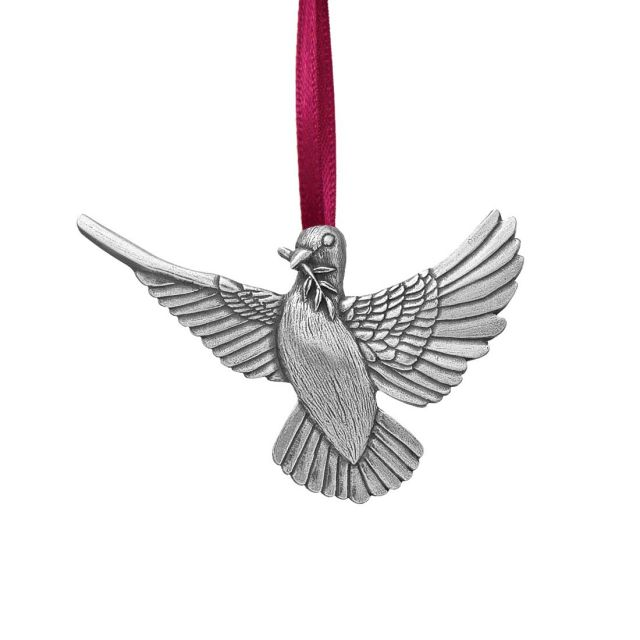 peace pewter annual ornament