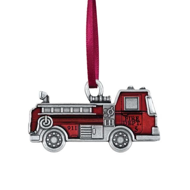 Fire Truck / Red Ornament
