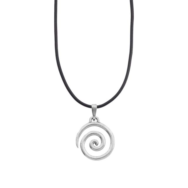 """Spiral Corded 16""""-18"""" Necklace"""