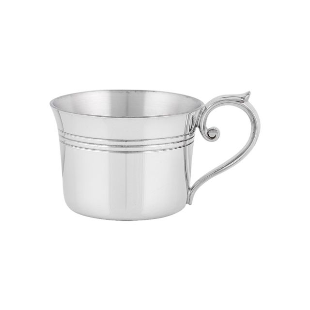 Flared Pewter Baby Cup