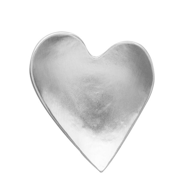 Original Heart Pewter Tray from the Vilmain Collection
