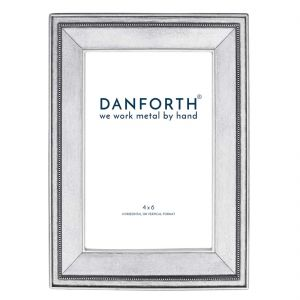 Federal classic 4x6 pewter photo frame