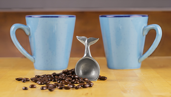 Whale Tail Coffee Scoop