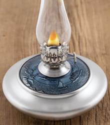 Coastal Waters Pewter Oil Lamp