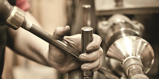 Spinning on a Lathe
